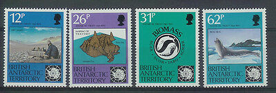 British Antarctic -Sg196-99-Antarctic Treaty-Mnh