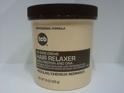 [Tcb] No Base Creme Hair Relaxer With Protein And Dna *regular* 15Oz