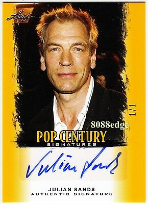2012 Pop Century Auto: Julian Sands #1/1 Of Autograph Arachnophobia/smallville