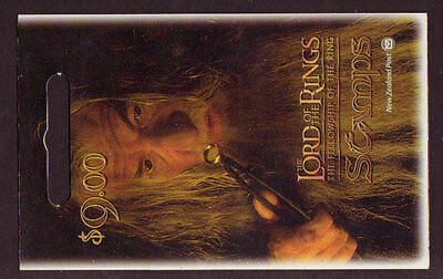 New Zealand 2001 Lord Of The Rings Self Adhesive Booklet.um, Mnh.