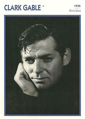 Fiche Cinema - Clark Gable