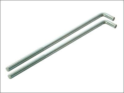 Faithfull External Building Profile - 230 mm (9in) Bolts (Pack of 2)