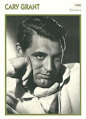 Fiche Cinema - Cary Grant