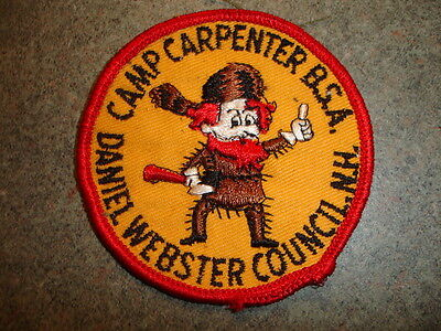 Camp Carpenter BSA Daniel Webster Council NH Collectible Sewing Patch