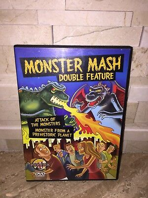 Monster Mash (DVD, 2006 ATTACK OF THE MONSTERS MONSTER FROM A PREHISTORIC PLANET