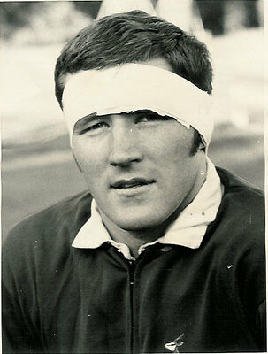 """MIKE JENNINGS SOUTH AFRICA RUGBY PHOTOGRAPH 8"""" x 6"""" (20cm x 15cm)"""
