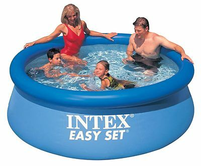 The wet set children 39 s inflatable three ring pool intex - 8 foot above ground swimming pools ...