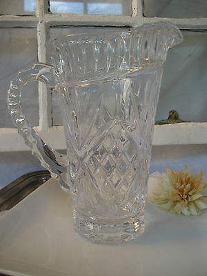 Shannon Crystal Designs of Ireland Water Pitcher...LOVELY