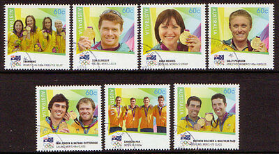 Australia 2012 Olympic Games Gold Medal Winners Fine Used.