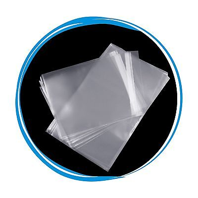 100 OPP Resealable Plastic Wrap Bags for Slim 7mm DVD Case Peal & Seal