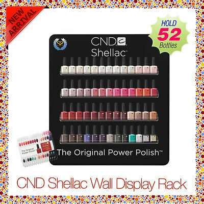 CND Shellac Wall Display (Empty) Rack! NEW Limited Edition