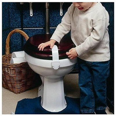 Brand New Clippasafe Toilet Seat Lock Safety Latch Children Kids