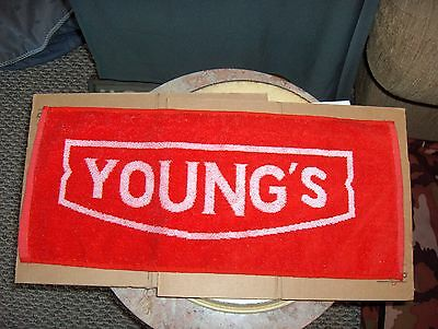 Young's Bar Towel New From England
