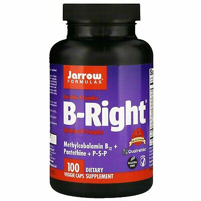High Potency Stress Vitamin B-Complex 100 Veg Capsules | Adrenal Fatigue
