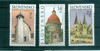 CHIESE - CHURCHES SLOVAKIA 2002 set