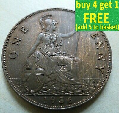 King George V One Penny Choice 1911-1936 Pick Your Own Choose