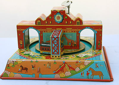 Tin Toy Clockwork Street Cars Mechanical Wind Up  Colourful & Fun Collectible