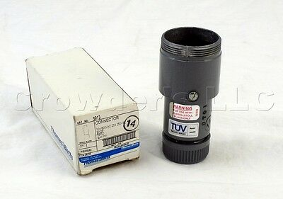 Thomas Betts Russellstoll 3913 FS/FD Connector Plug 20A 250V 10A 600V 2P 3W NEW