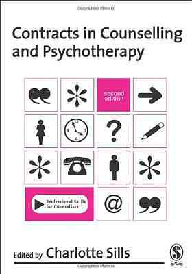 Contracts in Counselling & Psychotherapy (Professional  - Paperback NEW Sills, C