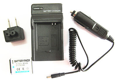 BP85A Battery and Charger kit for Samsung PL-210 SH-100 WB-210 Digital Camera