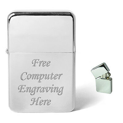 Engraved Christmas Xmas Petrol Lighter Personalised Birthday Gift