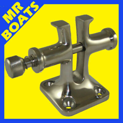 SPLIT BOLLARD with Anchor Locking Pin. 316 MARINE GRADE STAINLESS STEEL - NEW -