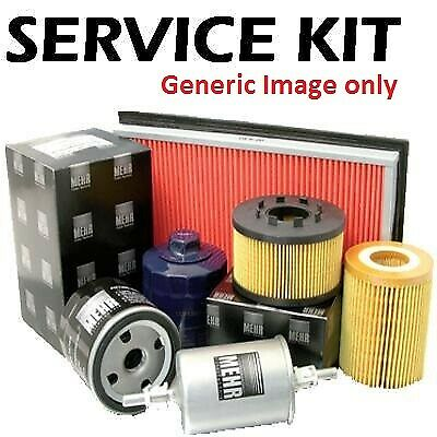 Fiat Panda 1.3 jtd Diesel 03-12 Air, Fuel, Cabin & Oil Filter Service Kit f7
