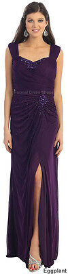 Sale New Evening Cruise Banquet Dress Formal Stretch Special Occasion Gowns Prom