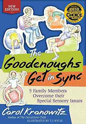 The Goodenoughs Get in Sync: 5 Family Members Overcome  - Paperback NEW Carol Kr