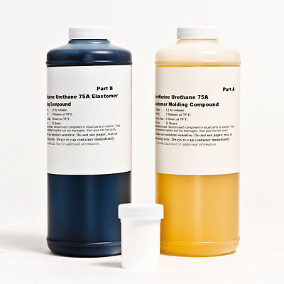 Concrete Molding Stamping Urethane Rubber 75A W/mold Release 1/2 Gallon Kit!