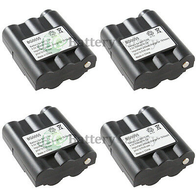 4 Two-Way 2-Way Radio Battery for Midland GXT-795 800 850 900 950 1000 1050 HOT!