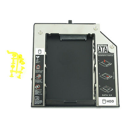 New Hard Drive Caddy Adapter 2nd SATA For Lenovo Thinkpad W510 W530 T430 T530