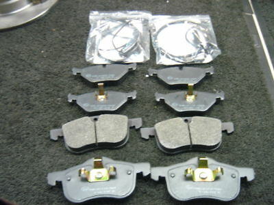 Rover 75 Mg Zt  Front & Rear Brake Pads & Warning Wire Sensors
