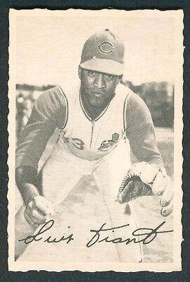 1969 Topps Opc O Pee Chee Deckle Edge Luis Tiant Ex-Nm Cleveland Indians