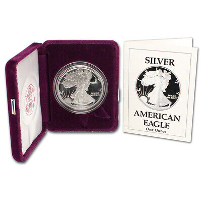 1990-S American Silver Eagle Proof
