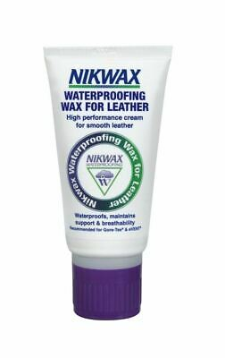 Nikwax High Performace Waterproofing Wax for Leather Shoes Clothing Neutral