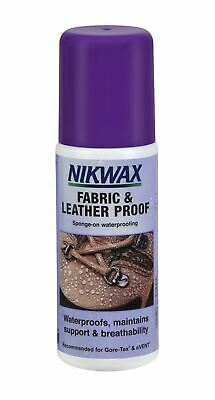 Nikwax Fabric & Leather Proof Waterproof Maintains Breathability for Footwear