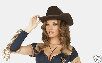 Cowgirl Costume Hat Halloween Female Party Accessories Western Girl Clothing