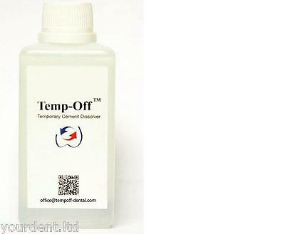Dental Temp-Off Temporary Cement Dissolver (remove temp. Cement) - Free Shipping
