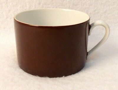 FITZ & FLOYD china RONDELLE Dark Brown CUP ONLY