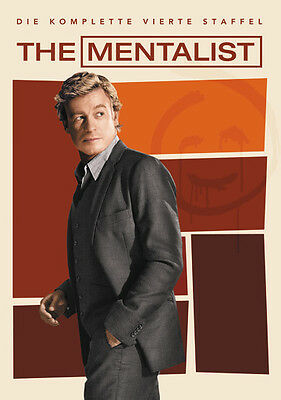 The Mentalist Season/Staffel 4 * NEU OVP * 5 DVD Box