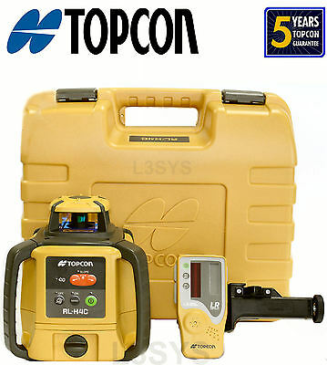 Topcon RL-H4C RB (NiMH) Rotating Laser Level with Free Priority Express
