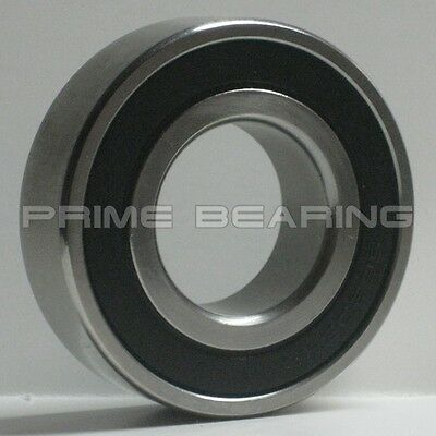 (Q'ty 1) 6203-2RS  Rubber Sealed Ball Bearing 17x40x12 mm