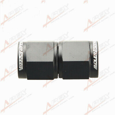 AN-6 ( 6AN AN6 ) Female To Female Adapter Fitting Black Adaptor