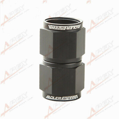 AN -10 (-10 AN 10AN ) Female To Female Adapter Fitting Black Adaptor
