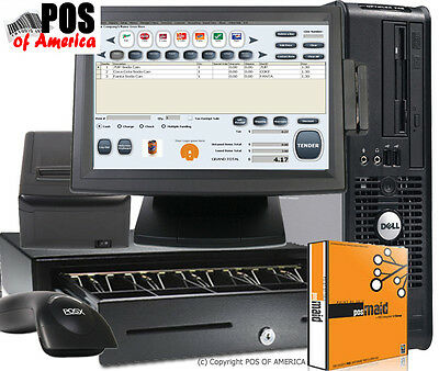 Retail POS System with Maid Software Complete NEW