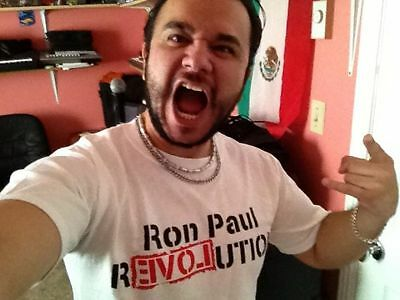 Ron Paul Revolution T Shirt  - All Sizes Small - 4X