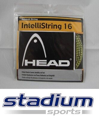 Head Squash String - IntelliString 16 - Perfect Blend of Power &Durability &Feel