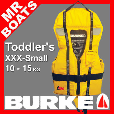 BURKE LIFEJACKET BABY / TODDLER XXX-SMALL 10-15kg Level L100 PFD1 Life Jacket