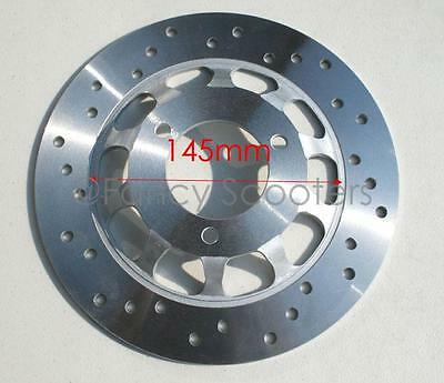 """Gas Scooter Front Disc Brake Rotor 220mm (8.6"""") WITH OFFSET, for TPGS-808 150cc"""